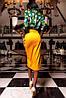 Женская замшевая юбка миди (Дарси jd), фото 5