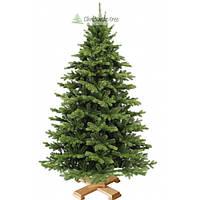 """Елка """"Еловый лес"""" на деревянной подставке 155 + гирлянда в подарок"""