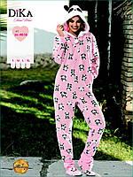 Пижама-комбинезон женская Dika 4616
