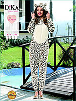 Пижама-комбинезон женская Dika 4619