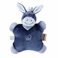 Nattou Мягкая игрушка-подушка ослик Алекс (24 см)