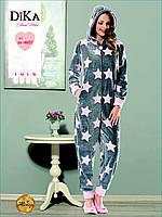 Пижама-комбинезон женская Dika 4657