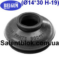 Пыльник шаровой опоры, рулевого наконечника 14*30* h-19 универсальный (МАСЛОСТОЙКИЙ)