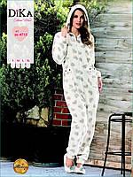 Пижама-комбинезон женская Dika 4713