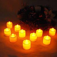 Свечи электронные жёлтые №2