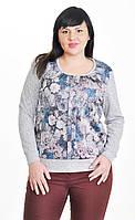 Женская блуза со складами