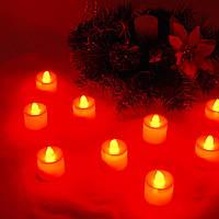 Свечи электронные красные