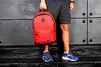 Спортивный городской рюкзак Nike, найк (красный), Реплика