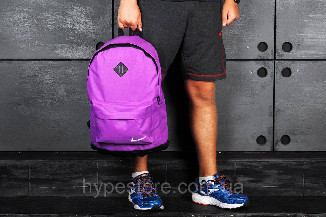 Спортивный городской рюкзак Nike, найк (розовый), Реплика