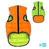 Airy Vest оранжево-салатовый