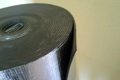 Полотоно физически сшитое (ППЭ) самоклеющееся фольгированный 4 мм