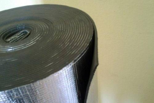 Полотоно физически сшитое (ППЭ) самоклеющееся фольгированный 4 мм, фото 2