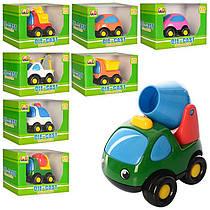 Машинка для малюків, метал, інерція, 8 см, мікс видів, в коробці 13-9-7,5 см, 803021