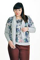 Копия Женская блуза со съемным шарфом