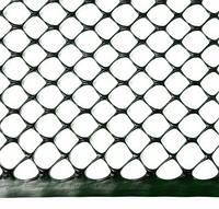 Сетка оградительная полимерная, 300 г / м2, глазок Сота 17х17, 1х50м 68-908