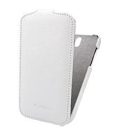 Чехол Melkco Leather Case Jacka White для HTC Desire SV T326e
