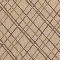 Жаккардовая ткань для штор в ромбы ARIZONA-8900-008 в коричневых оттенках