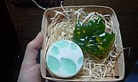 """Сувенирный/подарочный набор мыла для рук """"Листочки"""""""