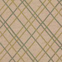 Жаккардовая ткань для штор в ромбы ARIZONA-4656 в зеленых оттенках