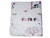 Одеяло детское Kitty 110х140 летнее Zastelli