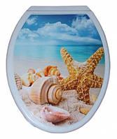 Туалетное сиденье Nova с рисунком 2012 Море (Турция)