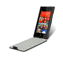 Чохол Melkco Leather Case Jacka Black for HTC WP C620e 8X