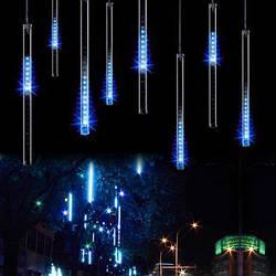"""LED гирлянда """"Тающая сосулька"""", """"Метеор"""" 1 сосулька 80 см, влагозащищенная"""