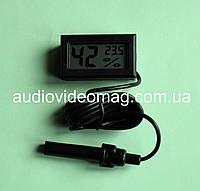 Электронный гигрометр + термометр с выносным датчиком