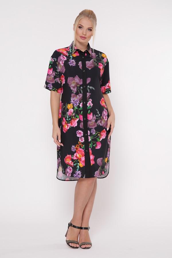 Платье-рубашка  женская Сати шиповник Vlavi