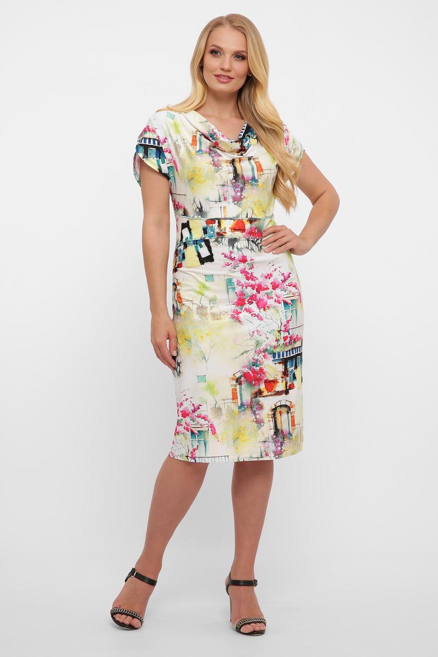 Платье женское летнее Дания акварель Vlavi